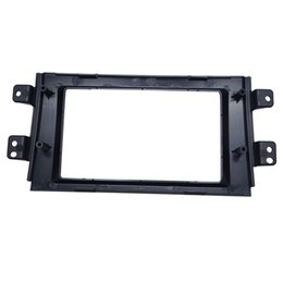 China CHENYI Car 2DIN Refitting Radio Stereo DVD Frame Fascia Dash Panel Installation Kits For SUZUKI SX4(07~10) cheap 2din kit suppliers