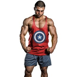 6956aef1312d6 Hot!!men s GYM Sports Vest Men s cotton fitness vest Singlets Mens Tank  Tops Stringer Bodybuilding Golds Gym Cotton