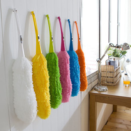 Fans book online shopping - Magic Soft Microfiber Cleaning Duster Dust Cleaner Handle Feather Static
