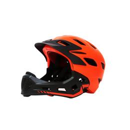 $enCountryForm.capitalKeyWord NZ - Children's Bicycle Riding Helmet Slide Balance Car Speed Skating Mountain Full Face Helmet Removable Ventilation