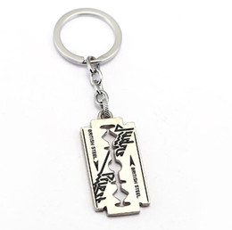 water crystals for plants UK - HSIC British Rock Band Judas Priest 2 Metal Keychain Pendant Fashion Key Chain Chaveiro Key Ring For Men HC12148