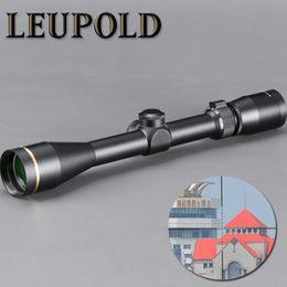 Rifles snipeR gun online shopping - LEUPOLD VX X40mm Riflescope Hunting Scope Tactical Sight Glass Reticle Free Mount For Sniper Airsoft Gun Hunting