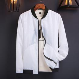 Slim Black Men Models NZ - Thin section collar jacket men Slim Korean version of the trend of mens casual solid color coat explosion models 54414