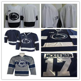College hoCkey jerseys online shopping - Penn State Nittany College Hockey Nikita Pavlychev Nate Sucese Evan Barratt Brett Murray Derian Hamilton Matt Mendelson Alex Stevens Jerseys