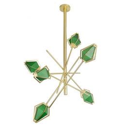 $enCountryForm.capitalKeyWord UK - Modern LED Spiral Gold LED Pendant Light Lighting Green White Pendant Lamp for Foyer Stair Hotel Hall Hanging Suspension E076