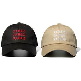 79733bef2f890 New I Feel Like Pablo Red Hat Dad Baseball Cap Kanye Pablo Embroidery Dad  Hat Men Women Snapback Cap Hats