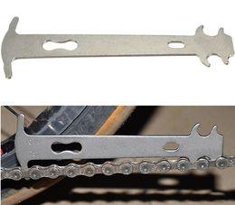 Tool Checker NZ - 600pcs Bicycle Chain Wear Indicator Checker Mountain Road Bike MTB Chains Gauge Measurement Ruler Cycling Replacement Repair Tool