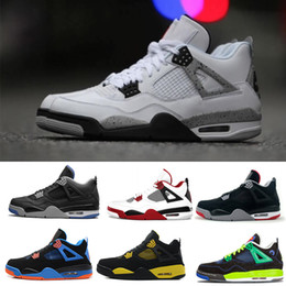 hot sale 2018 classic J4 GREEN GLOW Fire Red Nubuck Premium Black Bred Low Cut For Mens Casual Shoes Athletic IV Sport size 8-13 explore cheap online clearance best sale explore for sale jrwWsEnLS