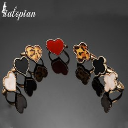 Product Brand Color Australia - Iutopian Brand Clearance Vintage Classic Rings Resizable 8 Color Low PrLost Money Products #NR334