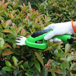 Lawn Trimmers Canada - Garden Hand East Garden Tools 3.6V Grass Cutter Pruning Tools brush cutter Pruning Shears grass trimmer lawn mower ET1205C-DG 2in1