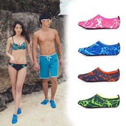 Skin loverS online shopping - Colorful Floral Print Diving Socks Snorkeling Sock Lovers Couples Non slip Swimming Beach Shoes Mens Designer Shoes Socks Skin Care Shoe
