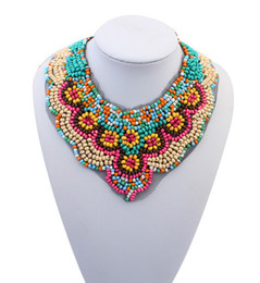 $enCountryForm.capitalKeyWord Canada - Statement Pendants for Women Fashion Jewelry Retail Ethnic Styles Gemstone Lace Choker Bohemian Necklace Vintage Collar Necklaces