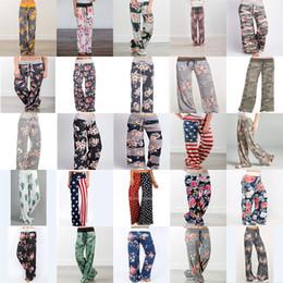 $enCountryForm.capitalKeyWord NZ - 25 Styles 2018 New fashion Loose Lady women Floral Striped Yaga Long Trousers Leisure Wide leg pants Maternity Clothing C4714