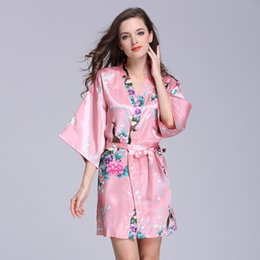 $enCountryForm.capitalKeyWord Canada - 2016 Hot Slae Summer Women Nightgowns Loose Plus Size Sexy Silk Sleeping Dress Night Sleepshirts Women's Home Clothes Sleepwear