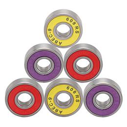 Vente en gros Roulements de planche à roulettes en ligne, bille à gorge profonde, acier chromé ABEC7-9 choisir