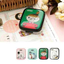 moomin case 2019 - Treein Art Moomin Series Moomin Labor Day Plastic Invisible Glasses Case Bring Mirror discount moomin case