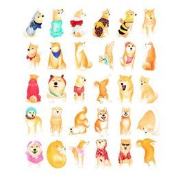 Postcard greeting cards online shopping - Creative Magazine Post Cards Confidence Smile Heteromorphism Shiba Inu Shape Greeting Card Novelty Christmas Paper Postcard New sg B