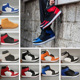 7977e1184317 High OG 1 Top 3 Men Basketball Shoes Bred Toe Chicago Banned Royal Blue  Fragment UNC HOMAGE TO HOME New Love City Of Flight Sneakers Sports