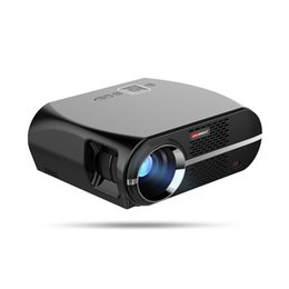 Discount android hdmi bluetooth - VIVIBRIGHT Android 6.0.1 LED Projector GP100 UP 1280x800 Resolution 3200 Lumens Built-in WIFI Bluetooth DLAN Miracast Al