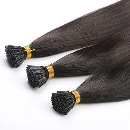 "$enCountryForm.capitalKeyWord Australia - 0.8g s 16"" 18"" 20"" Remy Nail Tip Human Hair Extension European Human Keratin U Tip Pre Bonded Hair Extension 50pcs"