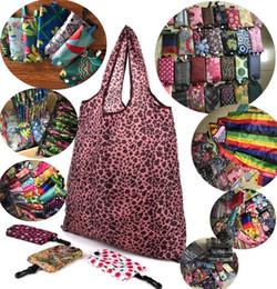 Stocking nylon lady online shopping - Newest folding Bag Nylon Foldable Shopping Bags Reusable Eco Friendly folding Bag Shopping Bags new Ladies Storage Bags IB002