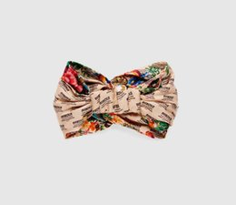 $enCountryForm.capitalKeyWord UK - Luxury Designer Silk Headband Fashion Brand Elastic Hair bands For Women Girl Turban Headwraps Gifts