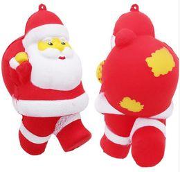 $enCountryForm.capitalKeyWord UK - Free Ship 10pcs 12*7.5*6.5cm Cartoon Santa Claus Squishies Slow Rising Anti Stress Toys Father Cell Phone Strap Pendant Soft Christmas gifts