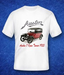 "Discount gifts british - Details zu BRITISH CLASSIC,1933 AUSTIN 7 ""RUBY"" OPEN TOURER ENTHUSIASTS T SHIRT Funny free shipping Unisex Cas"
