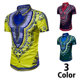 Wholesale shirts polos for sale – custom Shirts Fashion Printed National Style Polos Shirt New Brands for Men Casual Beach t Shirts Short Sleeve Paisley Hip Hop t shirts