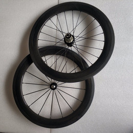 Folding Bike 12 Inch NZ - SEMA carbon wheels 20inch451-50mm wheelset with hubsmith and R36 carbon hub for Dahon folding bike best quality wheels