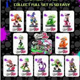 Hottest figure online shopping - Splatoon NFC Tag Cards PVC Video Game Card Kit Breath Wild Series Figures Tagged Toy Hot Sale ld YY