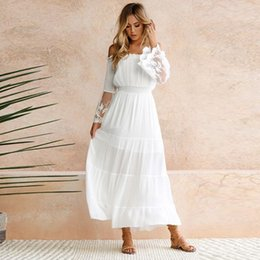 e03e3063b5cf Vestido Largo Sin Tirantes Blanco Online | Vestido Largo Sin ...