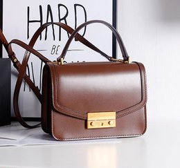 $enCountryForm.capitalKeyWord Canada - New Genuine leather designer handbags women shoulder crossbody messenger bags lady fashion evening casual purses black red green blue brown