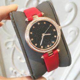 Dresses tops online shopping - 2018 TOP Fashion Famous Brand women watch genuine leather Dress wristwatch Quartz lady Clock Luxury Hot sales watch hign quality Grils watch