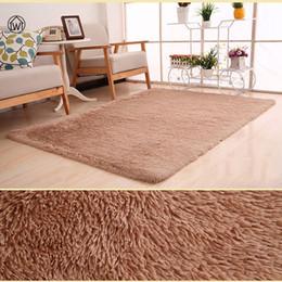 Discount long gray hair styles - Home Textile Living Room Carpet Big Size Mat Long Hair Sofa Bedroom Rug Table Carpet Bedroom Mat 40*60cm-80*200cm Pad Mo