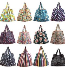Foldable Flats Wholesale Australia - Shopping Bag Lady Foldable Reusable Fruit Grocery Pouch Recycle Organization Bag Eco Reusable Shopping Bag KKA6199