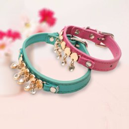 Chinese  Pet Products for Dog Cats Crystal Necklace for Dogs Accessories Luxury Jewelry Bling Puppy Chihuahua Dog Collar Pets Supplies manufacturers