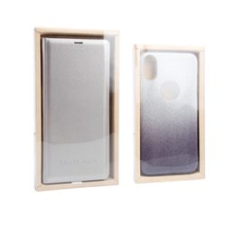 PaPer box Pvc window online shopping - Universal Packaging Box for Samsung S9 S9plus Phone Case New Blank Kraft Paper Package with PVC Window