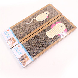 $enCountryForm.capitalKeyWord NZ - Kitty Mouse Pattern Pet Supplies Scratchers Toys Sisal Corrugated Paper Bait Fish Cat Claw Plate Hot Sale 3 5hz Ww