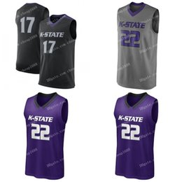 aaeee449923 NCAA Kansas State Wildcats  11 Peyton Williams 12 Rachel Ranke 15 Kali  Jones 22 Karyla Middlebrook Stitched College Basketball Jersey