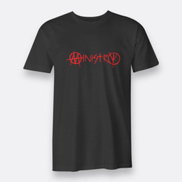 $enCountryForm.capitalKeyWord Australia - MINISTRY Industrial Metal Men's Black T-shirt Tee Size S-3XL knitted comfortable fabric men t-shirt Men T Shirt Classic