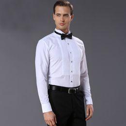 2cbd57632c4 mens dress shirts styles 2019 - french style Mens Shirts quality Fashion  white Men dress shirt