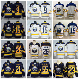 Buffalo Sabres 9 Jack Eichel Hockey 26 Rasmus Dahlin Jerseys 21 Kyle Okposo  55 Rasmus Ristolainen Blue White Winter Classic Man Woman Youth 66cea8609