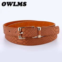 China Genuine Leather Belts cowhide strap belt for jeans high quality trendy women's brand waistband pink buckle casual ceinture femme supplier cowhide wholesale belts suppliers