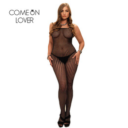$enCountryForm.capitalKeyWord NZ - HI3016 Drop Shipping Fishnet Hot Sexy Plus Size Bodystocking See Through Sexy Lingerie Hot Open Crotch Bodystockings For Women S926