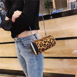 $enCountryForm.capitalKeyWord NZ - Leopard Bags for Women 2018 Solid Messenger Bag Chain Handbag Luxury Handbags Women Bags Designer Sexy Shoulder Bag Sac A Main