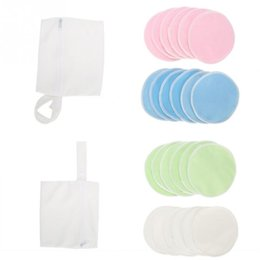 body breast massage NZ - Body Breast Massage 12PCS Set Washable Soft Bamboo Fiber Prevention Nursing Pad Discharge Makeup Pad