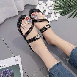 $enCountryForm.capitalKeyWord Canada - New Arrivals fashion sandal rhinestone women sandals 2018 summer sandals women shoes metal decoration Shiny big jeweled slippers