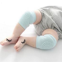 Infant knee pad online shopping - Baby Anti Slip Knee Pads Soft Comfortable Ductile Leg Guard Toddler Crawling Goods Elastic Infant Kneecap nr Ww