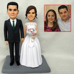 $enCountryForm.capitalKeyWord NZ - Special Gift wedding Toys Mini Wax Figure Custom Birthday Bride And Groom wedding Gifts Ideas Wedding Unique handmade gift doll